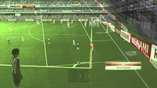 PES 14 PC Online Gameplay Athletico Mineiro   PSG
