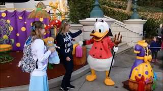 Our Disneyland Paris Character meet and greets October 2018.