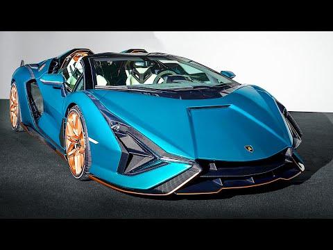 Lamborghini Sian Roadster (2021) Interior and Exterior Details