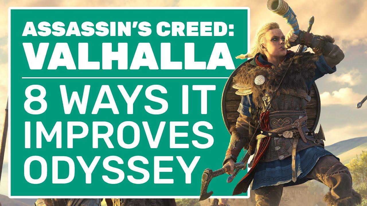 8 Ways Assassin S Creed Valhalla Improves On Odyssey Youtube