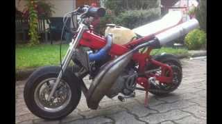 pocket bike derbi 80