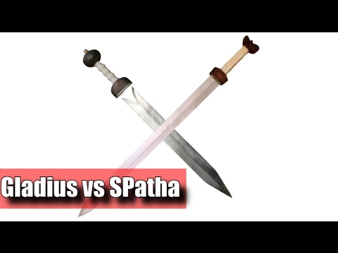 Gladius VS Spatha - Why Did The Empire Abandon The Gladius?