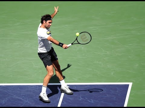 BNP Paribas Open 2018: Roger Federer Shot of the Day