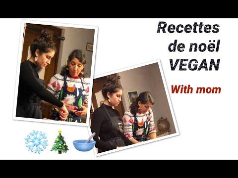 3 recettes VEGAN de NOEL (avec maman) | Abigaël Salem