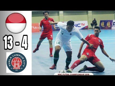 Indonesia (13) vs KLC FC (4) MMC FUTSAL CHAMPIONSHIP 2019