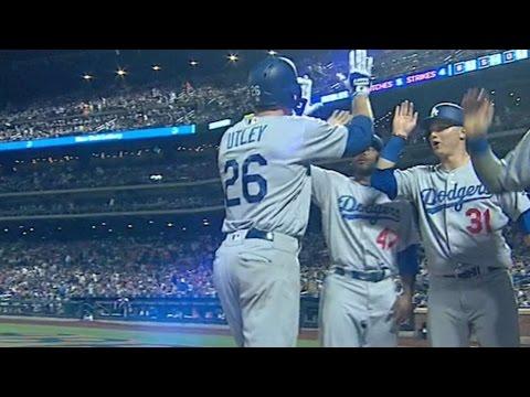 LAD@NYM: Dodgers Combine For Five Dingers Vs. Mets