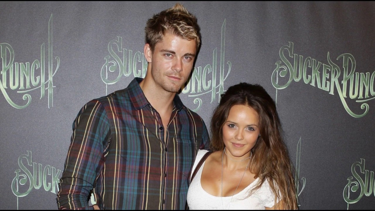 Luke Mitchell And His Wife Rebecca Breeds