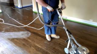 Art Flooring & Construction   Dustless buffing