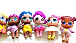 Ten Dolls in a Bed