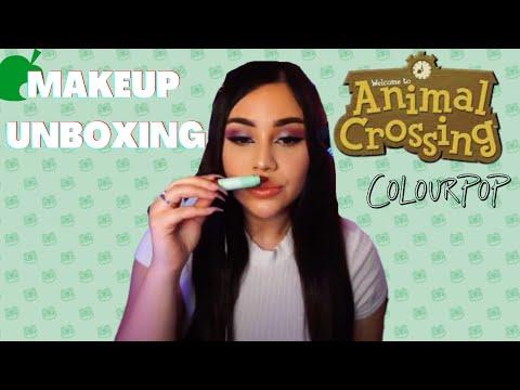 [ASMR]   ColourPop x Animal Crossing HAUL - YES! YES!