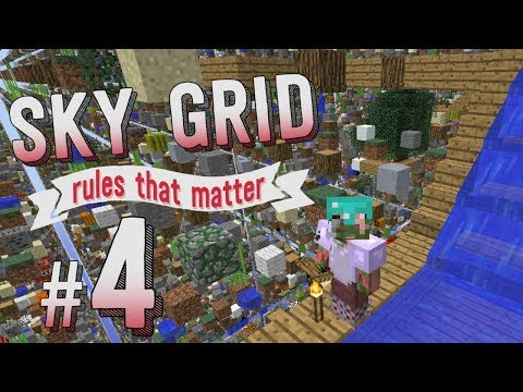 Minecraft :: Water Transport - SkyGrid Rules That Matter #4
