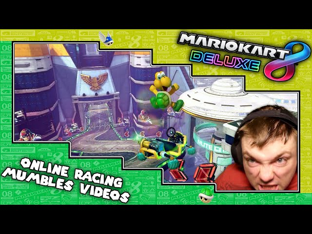 Mario Kart Online Racing Fun Reactions and Edits 2021 | Relentless Opponents | MumblesVideos