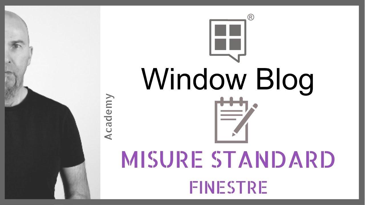 Misure standard finestre come scegliere le dimensioni dei for Dimensioni standard finestre