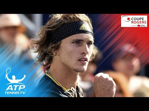 Federer, Zverev to meet in final | Coupe Rogers 2017 Semi-Final Highlights