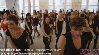 Shannon Lewis - I Gotcha - Verdon Fosse Legacy - Steps on Broadway