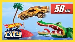 CARS, CREATURES AND CARNAGE! | Hot Wheels City | Hot Wheels