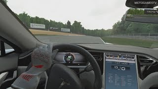 Gran Turismo Sport VR - Tesla Model S Signature Performance '12 Gameplay