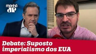 Villa e Constantino discutem suposto imperialismo dos EUA