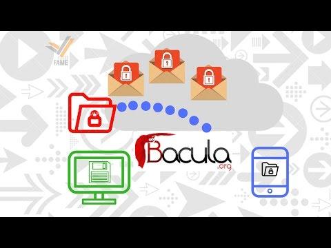 Видео Sistema de gerenciamento de backup bacula
