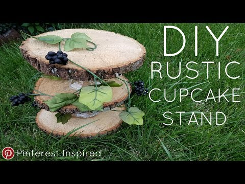DIY CUPCAKE STAND | PINTEREST INSPIRED