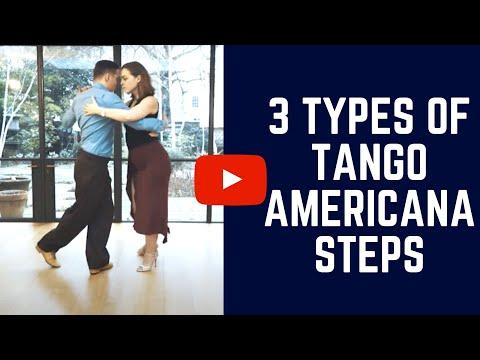 TANGO AMERICANA: 3 Resolutions for the Tango Americana steps
