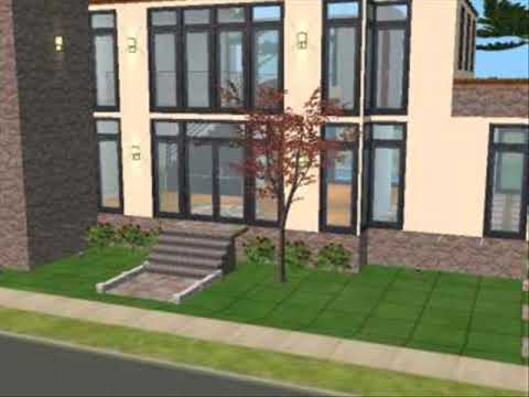 The sims 2 house design los sims 2 dise o de casa youtube for Casa de diseno the sims freeplay