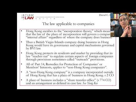 hong-kong-company-law-lecture-13-jurisdiction-over-foreign-companies,-part-a