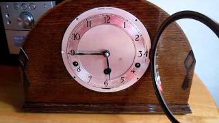 Garrard Triple Chime Mantle Clock Plays Whittington, Winchester And Westminster