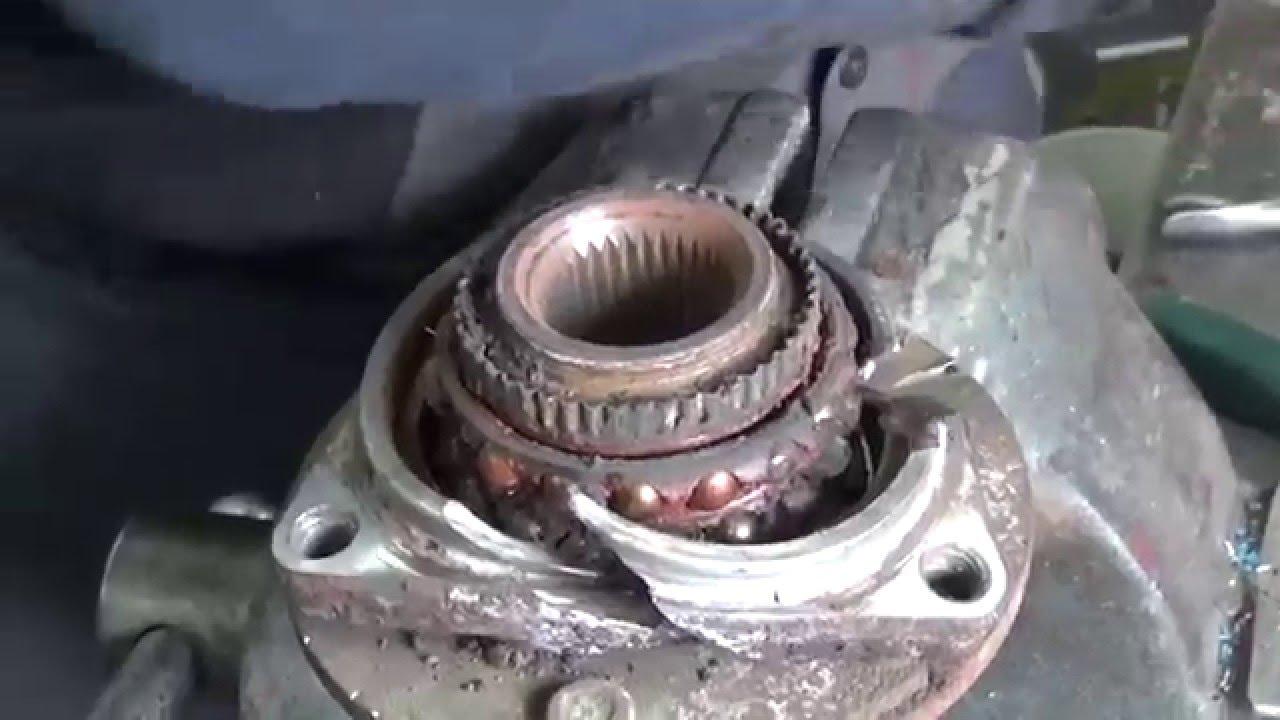 Chevrolet Uplander Wheel Bearing Replacement