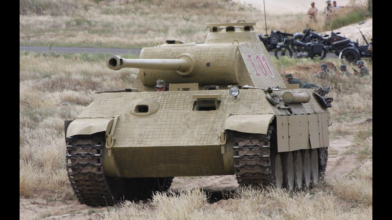 Panther Vs. M26 Pershing-which was Better? (Videos) - YouTube
