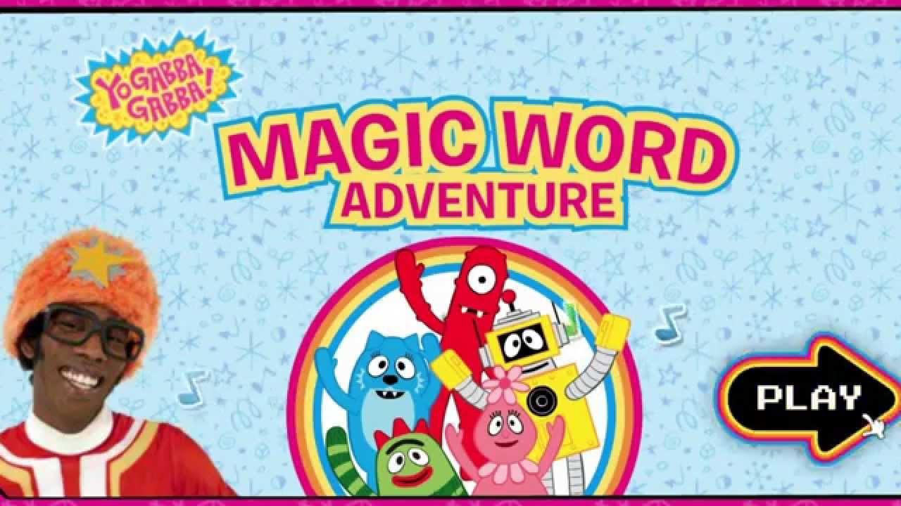 Yo Gabba Gabba Magic Word Adventure - YouTube