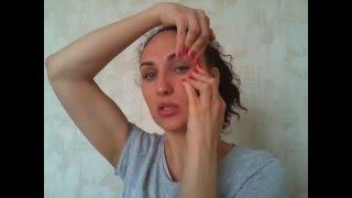 Тренировка зоны глаз. Фейсбилдинг с Кристиной Бондаревой