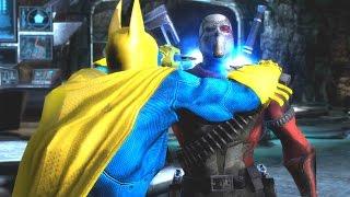 Injustice: Gods Among Us - All Super Moves on Suicide Squad Deadshot (1080p 60FPS)