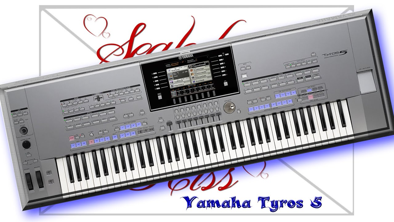 sealed with a kiss yamaha tyros 5 youtube. Black Bedroom Furniture Sets. Home Design Ideas