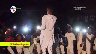A2_ LIVE AT Low battery lunching RIDDIM-GAMBIAN MUSIC 2018