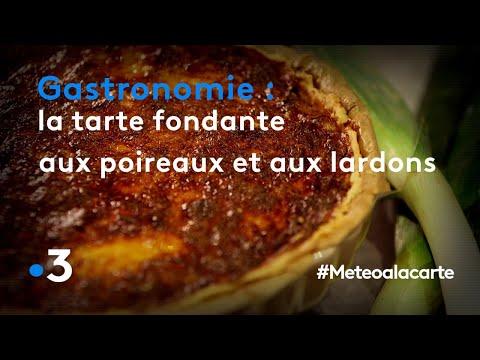 gastronomie-:-la-tarte-fondante-aux-poireaux-et-aux-lardons---météo-à-la-carte