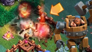 THE BATTLE MACHINE EXPLODED | Clash of Clans | Battle Machine & Multi Mortar Unlocked