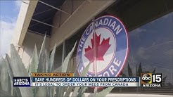 Looking to reduce costs? Try ordering your prescriptions from Canada