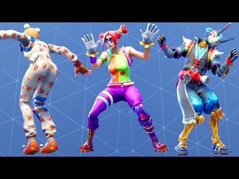 Fortnite All Dances Season 1-7 Updated to Mime Time