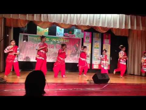 Dhin Tak Kur Dhin Tak Group Dance Performance, Nishat,nadia,2018,newyork