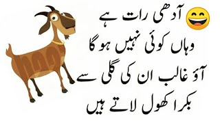 Bakra Eid Special Funny Poetry and Funny Quotes | Funny Poetry for Bari Eid | Eid ul azha Poetry