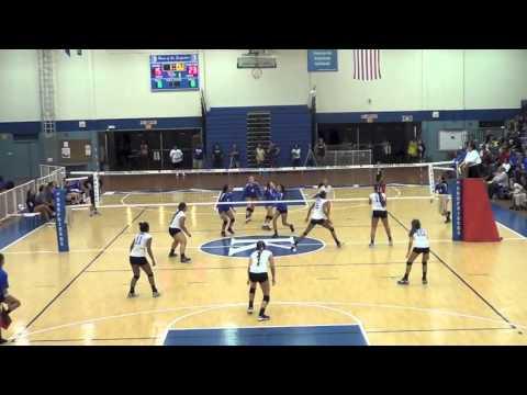 Tiare Young - Girls Volleyball - Kailua High School Class of 2016 - Kailua v Moanalua Highlights