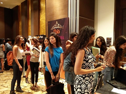 fbb Femina Miss India 2016 - Mumbai Auditions - Episode 8