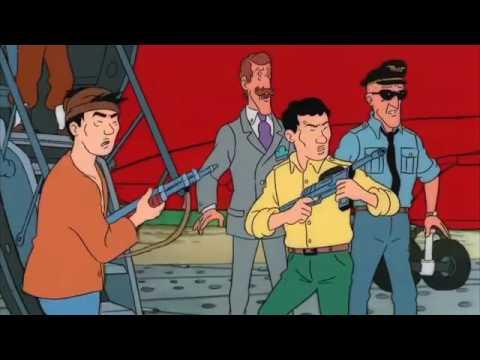 Flight 714 The Adventures Of Tintin