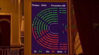 El Parlamento tumba los Presupuetos de Sanchez