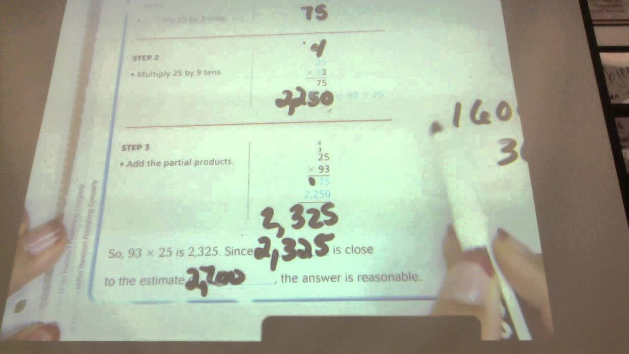 Go Math lesson 3-5 4th grade - YouTube [ 720 x 1280 Pixel ]