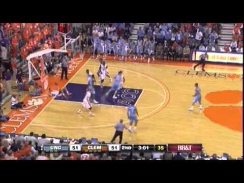 North Carolina vs. Clemson - Harrison Barnes Dunk