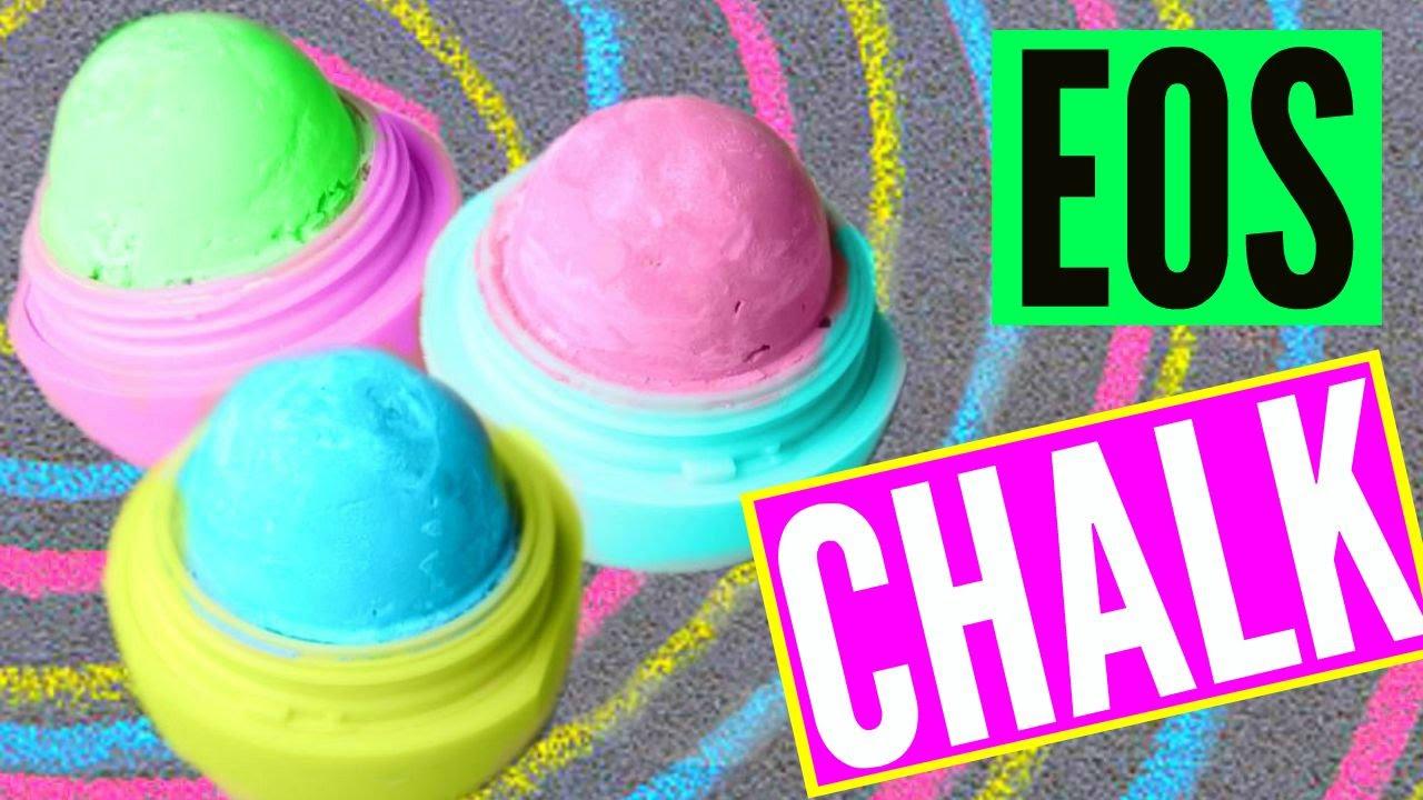Diy Eos Chalk Make Sidewalk Chalk Youtube