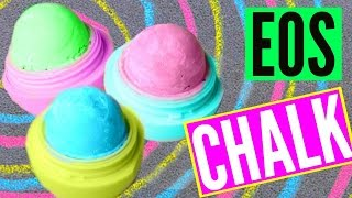 DIY EOS CHALK! Make Sidewalk Chalk!