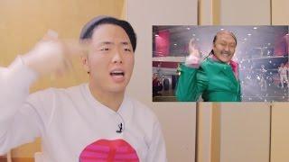 Реакция на клип PSY - DADDY